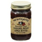 The Dutch Kettle Apple Butter, Caramel Pecan, Homemade Style