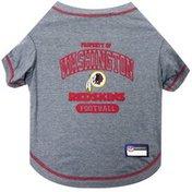 Pets First Large Washington Redskins Pet T-Shirt