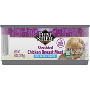 First Street Chicken Breast Meat, Shredded