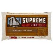 Supreme Rice White Rice, Medium Grain