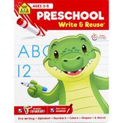 School Zone Workbook, Preschool