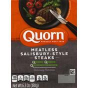 Quorn Steaks, Meatless, Salisbury-Style