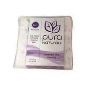 Pura Naturals Lavender Mist Balancing Exfoliating Infused Cleansing Soap