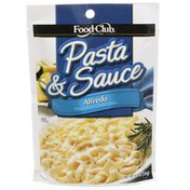 Food Club Pasta & Sauce, Alfredo Fettuccini In A Cheese Sauce