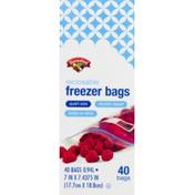 Hannaford Reclosable Quart Freezer Bags