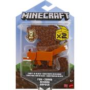 Minecraft Renard Raposa, Fox - Zorro, 6+