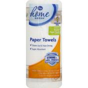 Kroger Paper Towels, Regular Roll, Two-Ply