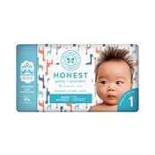 The Honest Company Honest Diapers, Multicolored Giraffes, 1