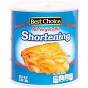 Best Choice All Vegetable Shortening