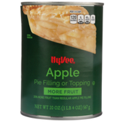 Hy-Vee Apple Pie Filling Or Topping