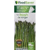 FoodSaver Heat-Seal Rolls, 11 Inch