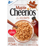 Cheerios Maple , Gluten Free Cereal with Whole Grain Oats