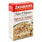 Zatarain's Vegetables & Rice Mix, French Market