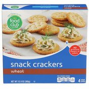 Food Club Wheat Snack Crackers