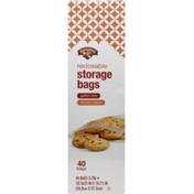 Hannaford Reclosable Gallon Storage Bags