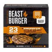 Beyond Meat Beyond Meat 100% Plant Protein Beast Burger 1/4 lb. Patties