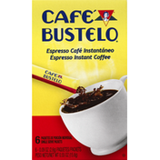 Café Bustelo Coffee, Instant, Espresso, Single Serve Packets