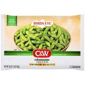 C&W In the Pod Edamame Soybeans