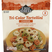 First Street Tortellini, Cheese, Tri-Color