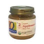 O Organics Organic Applesauce Baby Food