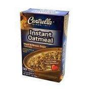 Centrella Maple'n Brown Sugar Instant Oatmeal