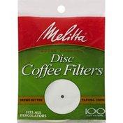 Melitta Coffee Filters, Disc, Super Premium