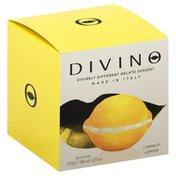 Divino Gelato Dessert, Lemon, Box
