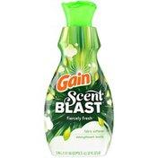 Gain Scent Blast Liquid Fabric Softener, Fiercely Fresh