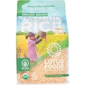 Lotus Foods Jasmine Rice, Organic Brown