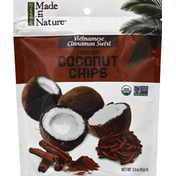 Made in Nature Toasted Coconut Chips, Vietnamese Cinnamon Swirl