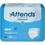 Attends APP0740 Advanced X-Large Underwear