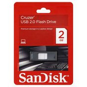Sandisk Flash Drive, USB 2.0, 2 GB