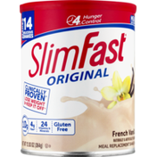 Slim-Fast Meal Replacement Shake Mix, Original, French Vanilla