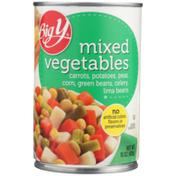Big Y Mixed Vegetables Carrots, Potatoes, Peas, Corn, Green Beans, Celery, Lima Beans