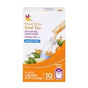 SB Iced Tea Sugar Free Drink Mix - 10 CT