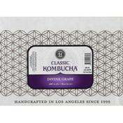 GTS Living Foods Kombucha, Classic, Divine Grape