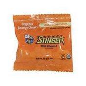 Honey Stinger Energy Chews, Orange Blossom