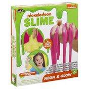 Cra Z Art Slime, Neon & Glow, Nickelodeon