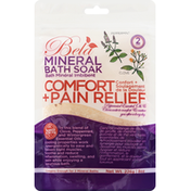 Bela Mineral Bath Soak, Comfort + Pain Relief