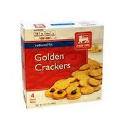 Food Lion Reduced Fat Golden Crackers