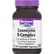 Bluebonnet Coenzyme B-Complex, Vegetable Capsules