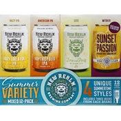 New Realm Beer, Summer Variety Mixed, 12-Pack