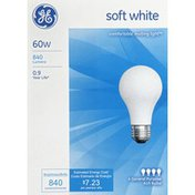 GE Light Bulbs, Soft White, 60 Watts