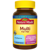 Nature Made Multivitamin For Her Softgels
