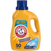 Arm & Hammer Clean Burst, 50 Loads Liquid Laundry Detergent,