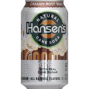 Hansen's Soda, Natural Cane, Creamy Root Beer