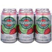 Hansen's Natural Cane Kiwi Strawberry Soda