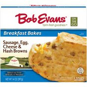 Bob Evans Farms On the Go Breakfast Bakes Sausage, Egg, Cheese & Hash Browns