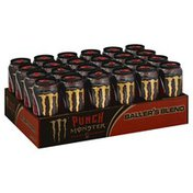 Monster Energy Drink, Baller's Blend, Punch 24 Pack, Tray