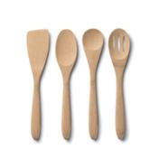 bambu Organic Essential Utensils. Set of 4
